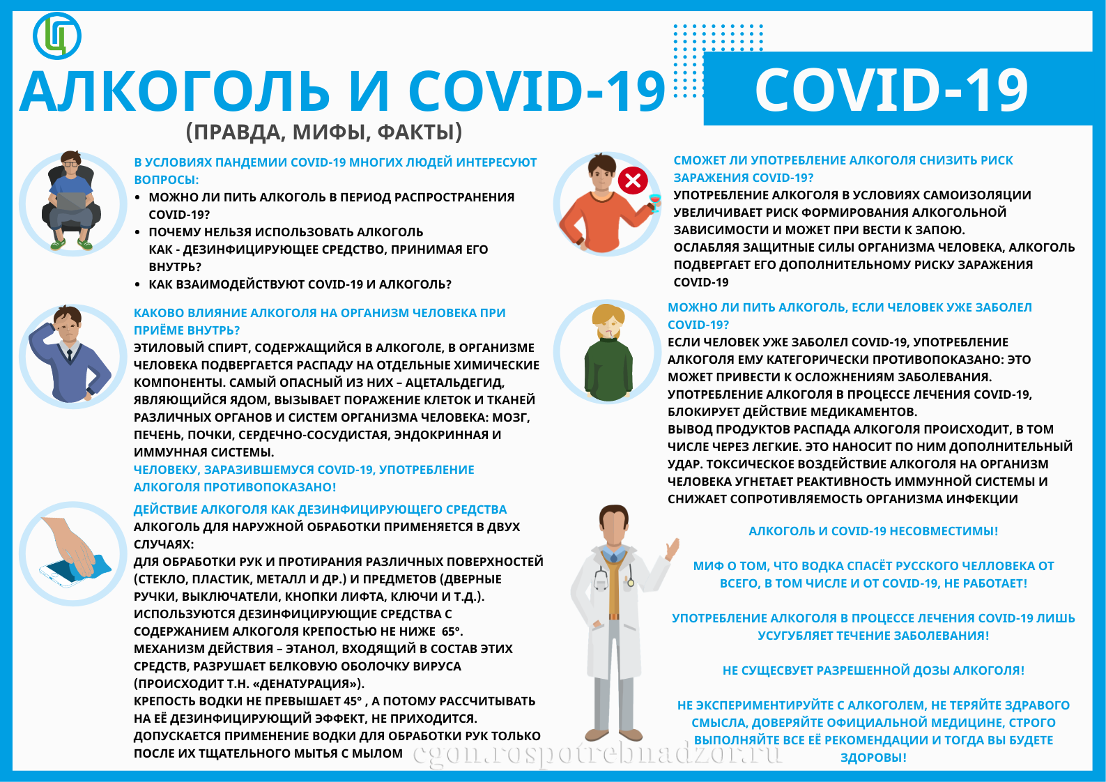 Alcohol and covid